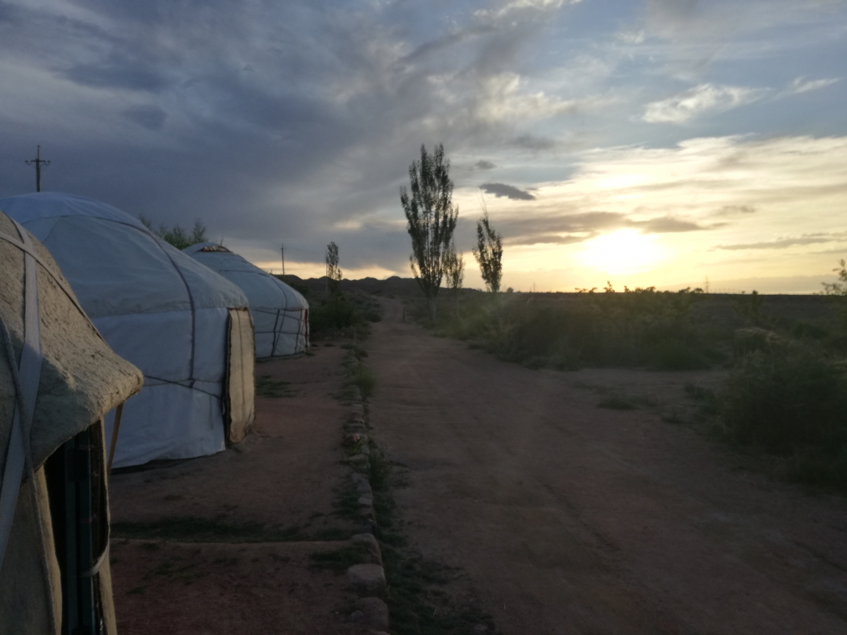Manjyly yurt camp