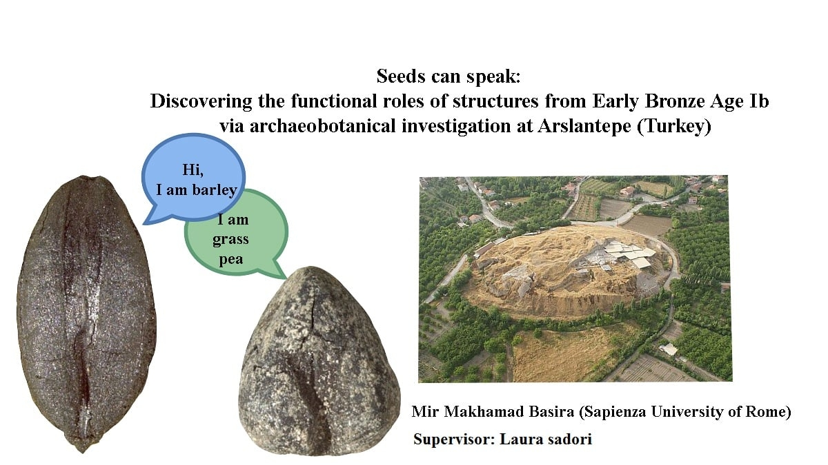 Seeds can speak: discovering the functional roles of structures from Early Bronze Age Ib via archaeobotanical investigation at Arslantepe (Turkey).