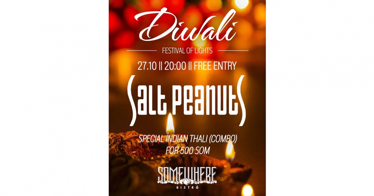 Diwali and Salt Peanuts