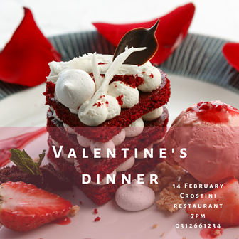 Valentine's day dinner and getaway at the Hyatt