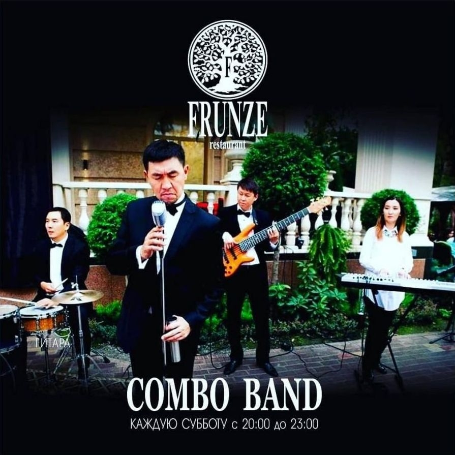 COMBO band at FRUNZE restaurant